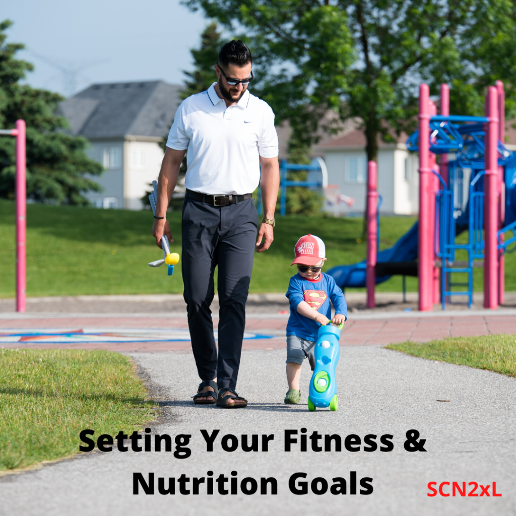 How to set your nutrition & fitness goals